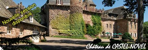 Session à Castel Novel (Varetz Dpt. 19) - Informations et Plan d'accès