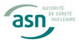 Nouveau : ASN  Protection du public, des patients et des travailleurs dans le domaine des activités nucléaires